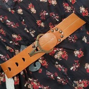 Italian Leather Belt by Antoniazzi Firenze